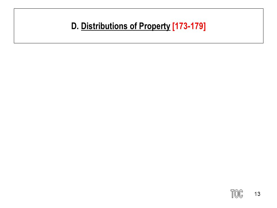 D. Distributions of Property [173-179]